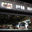 大阪駅桜橋口、トラベルコートと高速バスのりば(再掲2018/5掲載)