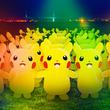 """""""ピカチュウ大量発生チュウ!2019""""が8月6日~12日に開催、今年は夜のみなとみらいに過去最大級の2000匹以上のピカチュウが登場"""