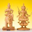 『RIYAK 帝釈天&梵天』おなじみ木製インテリア仏像に仏像界きってのイケメン登場!