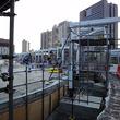 東京テレポート駅前に新しい屋根つき路線バス停車場が出現