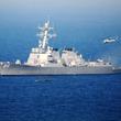 米駆逐艦、南シナ海で「航行の自由」作戦実施 中国反発へ