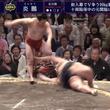 「This is炎鵬」実況・市川アナも大興奮 炎鵬、豊ノ島を叩き込みで下して7勝目