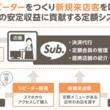 店舗のサブスクリプション型サービスの導入を支援する「Sub.」を提供開始
