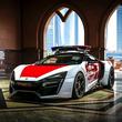 こんなパトカーありかよ!? 生産台数わずか7台の希少スーパーカー「ライカン HS」アラブ・アブダビ警察が採用