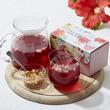 【Afternoon Tea】夏らしいドライフルーツと楽しむ「ピンクフルーツハーブティー」とブルーから紫へ色の変化を楽しむ「ブルーハーブティー」新発売