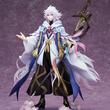私はマーリン。人呼んで花の魔術師。『Fate/Grand Order キャスター/マーリン 1/8 完成品フィギュア』が、あみあみ 限定流通で発売決定!