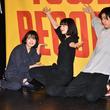 小松菜奈、門脇麦、成田凌が主題歌大合唱に感激!映画『さよならくちびる』イベント