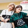 """CECIL McBEE(セシルマクビー)がpopteenで人気の女子高生モデル""""めるる""""&""""ほのばび""""をゲストモデルに起用した、初のKappa別注アイテムを発表!!"""