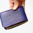 1枚の革を折るだけで仕立てた財布「Origami Wallet」が一般販売に。縫製・金具・接着剤ゼロで優れた耐久性を実現