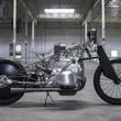 これがBMWの新エンジン「ビッグ・ボクサー」。鳥かごイメージのバイクカスタム現る