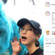 「月曜日の朝の顔じゃん」松井玲奈、哀しい目をしたモンスターとのツーショットを公開