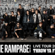 "THE RAMPAGE from EXILE TRIBE初のアリーナツアー『THE RAMPAGE LIVE TOUR 2019 ""THROW YA FIST""』のセットリストを「AWA」で公開"