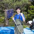 大阪・万博記念公園の池の水をぜんぶ抜く!ココリコ田中が地元大阪で凱旋水抜き!