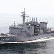潜水艦救難艦「ちよだ」 千葉県沖で沈没した貨物船の行方不明者救助へ 海上自衛隊