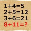 両方わかるとIQ130以上?答えが2つある計算クイズが再び話題に