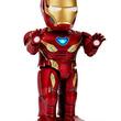 """「アベンジャーズ」誰でも""""I am Iron Man""""! アイアンマンが、スマホで操作できる""""ヒューマノイドロボット""""に"""