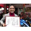 東京・江戸川区議に当選! インド出身・インド料理店経営のよぎ「カレー屋さんがビラを配ってると思われた」