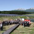 庄内・遊佐太陽光発電所 売電利益で地域づくりに貢献へ自治体と生産者、生活クラブ生協ら5者で基金設立を宣言