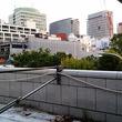 御茶ノ水駅の新たな構造物がみえてきた、聖橋も修繕がはじまったし