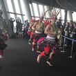 台湾 桃園の観光プロモーション  − 東京スカイツリーでの鮮やかな台湾原住民舞踊