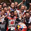 「LCR Honda IDEMITSU」中上選手 世界最高峰MotoGP2019年シーズン第6戦イタリア戦で自己ベスト第5位獲得!
