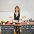 トーカ役の山本舞香が「あんていく」制服姿で「東京喰種:re CAFE」で公開食レポに挑戦