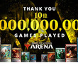 「マジック:ザ・ギャザリング アリーナ」が世界合計10億ゲームプレイを達成。「灯争大戦」ブースターパック進呈企画が実施中