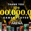 """『マジック:ザ・ギャザリング アリーナ』 世界合計で""""10億""""ゲームプレイを達成!記念にブースターパック配布へ"""
