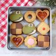 「かわいい!」「懐かしい」 伝説のパズルゲーム「ヨッシーのクッキー」を本物のクッキーで再現した人が話題