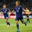 2ゴールで勝利に導いたFW永井謙佑「やっていてすごく気持ち良かった」《キリンチャレンジカップ》