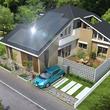 ヤマト住建、中国エリアに初の未来型モデルハウスオープン! 太陽光発電と電気自動車とV2Hで家庭の電気の 自給自足を可能にした住宅