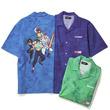 幽☆遊☆白書×XLARGE、幽助・桑原・蔵馬・飛影がデザインされたTシャツなど