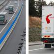 高速道路の貨物列車、新東名高速道路で5G-NR通信トラック隊列走行_世界で初めて成功