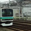 東京10:19発E233系東北線1572E、直前の回送E231系を上野で追い抜く【実況】