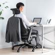 上着などを掛けられるハンガー付き多機能ロッキングメッシュチェアを6月12日発売