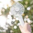 発売1.5か月で10万台突破! オフィスでも外でも使える手持ち扇風機「フレ 2WAY ハンディファン」