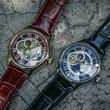 「鋼の錬金術師」エド&ロイをイメージした機械式腕時計、オリジナルBOXに入れて