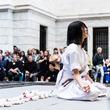 """現代アーティスト小松美羽 米クリーブランド美術館にて """"神道と現代アートの融合""""をライブペイントで体現!1500人が魅了される!"""
