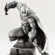 『バットマン:アーカム』10周年記念にホワイトのバットマンフィギュア登場