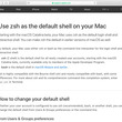 新・OS X ハッキング! 第241回 Catalinaでデフォルトシェルが「zsh」に変わる、bashとの違いは?
