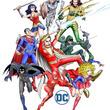"""「ルパン三世」モンキー・パンチが""""DCヒーローズ""""をデザインプロデュース! バットマンたちのイラスト初公開"""