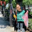 """LiLiCo、原宿の清掃活動で""""15センチ以上の包丁""""を拾う「ちょっと怖い」"""