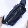 飛行機のシートベルトパーツとエアバッグで作られたANAのアップサイクルバッグ