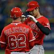 【MLB】大谷翔平、2回はトラウト敬遠後に押し出し四球 前日はサイクル安打、7打席連続出塁に