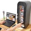 【俺専用の自販機】インテリアにもなる自動販売機型保冷庫が発売! ゲームをしながらでもボタンひとつで飲み物が取り出せる