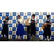広瀬アリスが「ジョージア ワーカーズソング」メンバーとオリジナルソング披露、「ジョージア ジャパンクラフトマン 微糖」発売記念イベントで