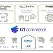 国内/越境 EC プラットフォーム「G1 Commerce」、 GMOペイメントゲートウェイ「PGマルチペイメントサービス」との連携機能を標準搭載