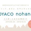 家族向けフォトブック作成アプリ運営のノハナ「OYACO nohana」(オヤコノハナ) を期間限定オープン