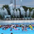 音楽に合わせてキャノン砲から水が勢い良く弾け飛ぶ!埼玉県東武動物公園でスプラッシュイベント開催
