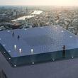 正気の沙汰?高所恐怖症には確実アウトな360度ビジョンの空中プールが高層ビルの屋上に建設予定(イギリス)